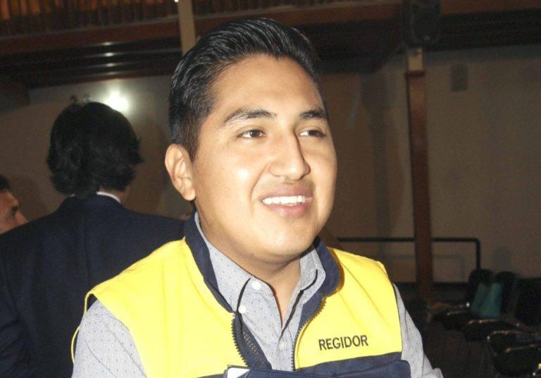 Regidor Nina señala que suspensión contra alcalde Cárdenas no tiene sustento