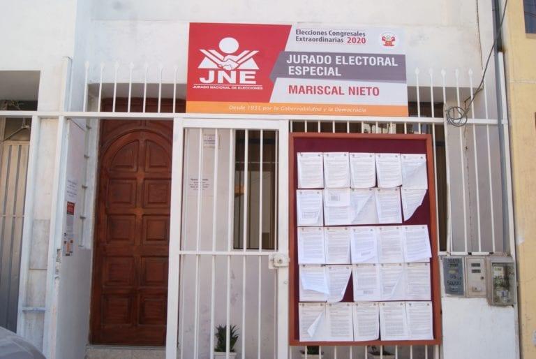 Admiten lista completa de Acción Popular para el Congreso de la República