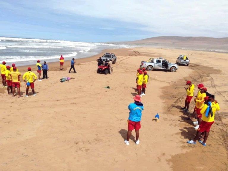 Encuentran cuerpo de ahogada en playa Arena Blanca