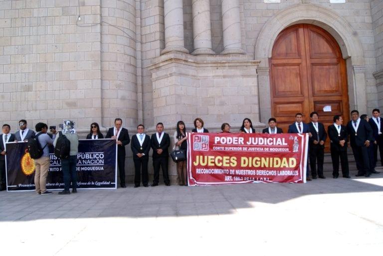 """Se inició el año judicial 2020 en medio de """"huelga blanca"""" que acatan jueces"""