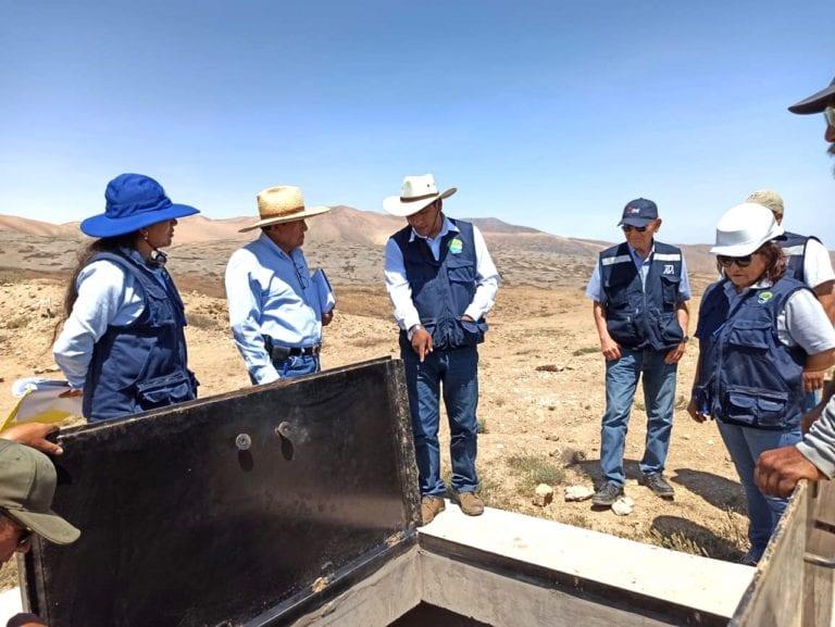 Inspeccionan línea de conducción en proyecto Lomas de Ilo