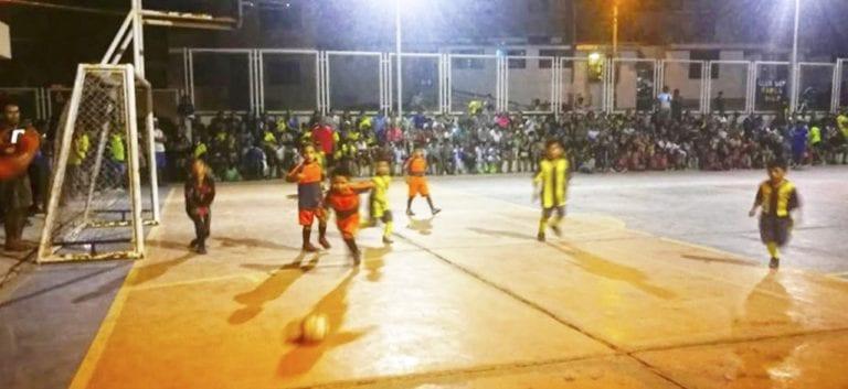 Academia Pantera: inauguran campeonato de futsal y vóley en Mollendo