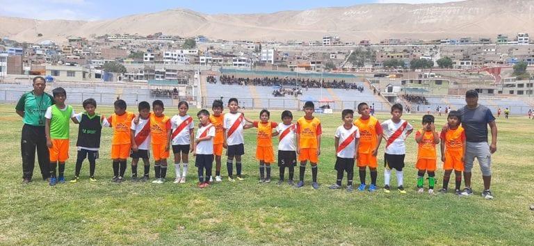 Club Deportivo Estudiantes Unidos Ilo realizó el primer torneo de fútbol menores