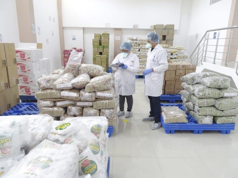 Qali Warma culminó proceso de liberación de casi 7 toneladas de alimentos