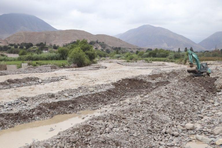 Más del 90% de bocatomas e infraestructura de riego afectados por desborde de ríos
