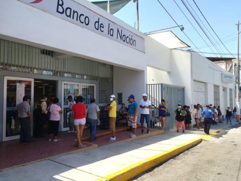 Agencia del Banco de la Nación Mollendo entra en cuarentena