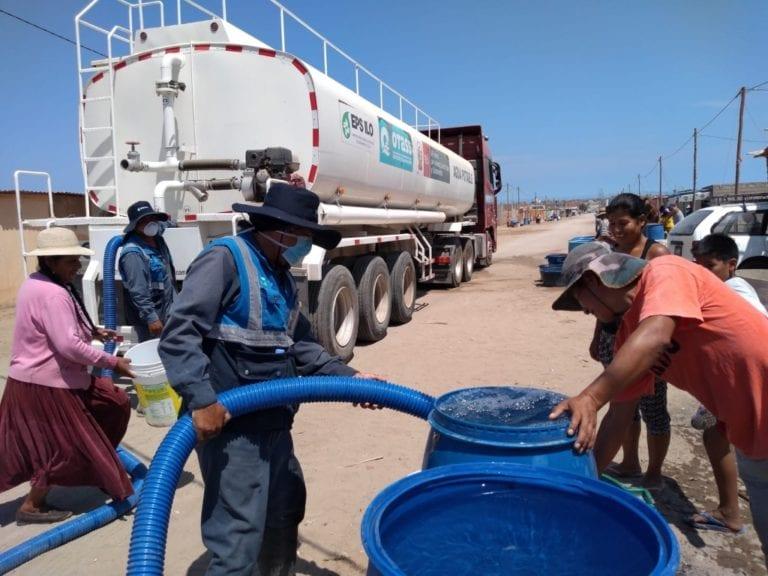 EPS Ilo garantiza el servicio de agua durante el estado de emergencia por coronavirus