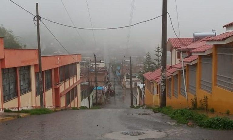 Se reportan precipitaciones pluviales en varios distritos de la región