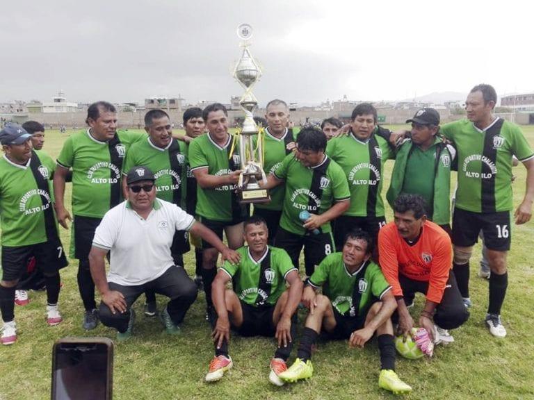 Dirigencia agasajó y reconoció el esfuerzo a Chalaquita, 1er. lugar del Fútbol Sénior 2019