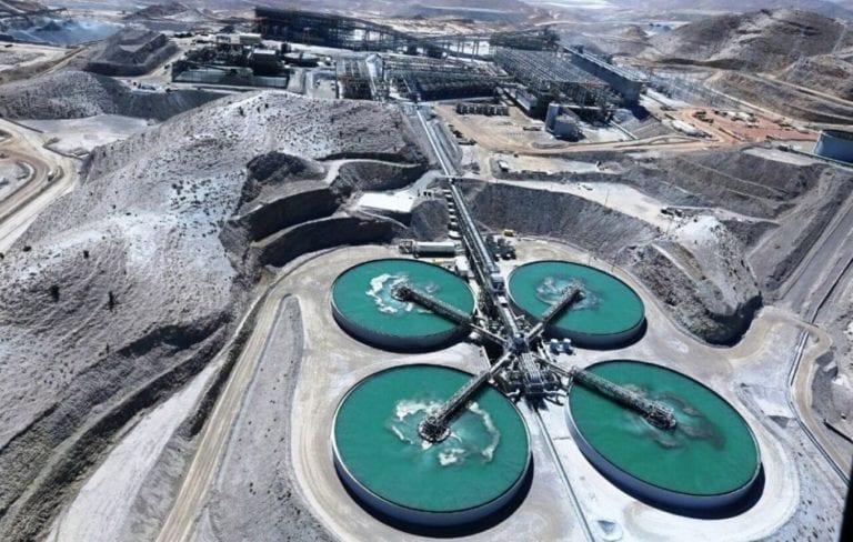 La minería se contrajo en 47.4% en Arequipa en el periodo enero marzo 2020