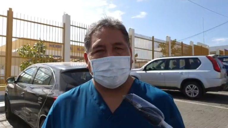 Con nuevo plantón exigen cambio del jefe de la Red de Salud Ilo