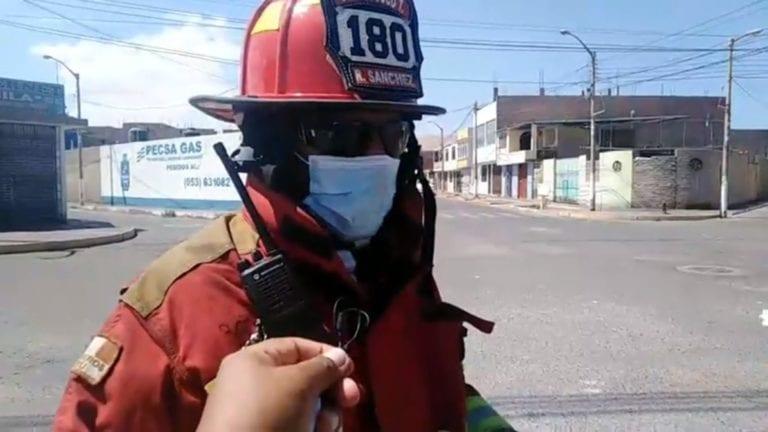 Vecinos del AA.HH Siglo XXI denuncian fuga de gas en planta distribuidora