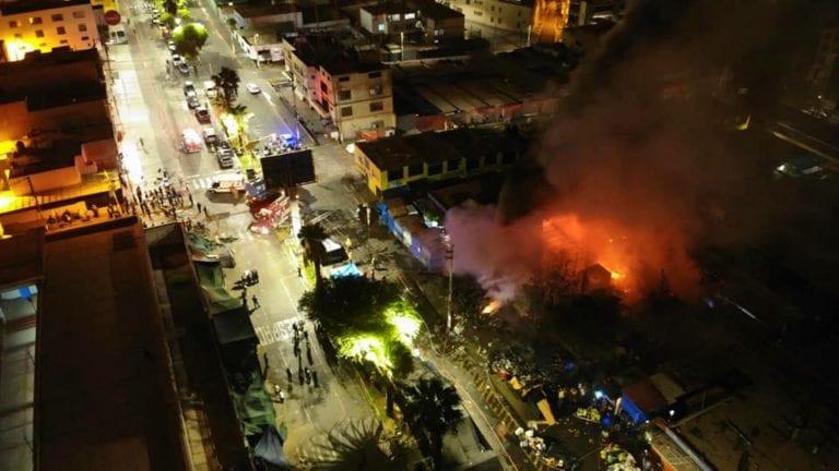 Incendio en mercado Pacocha no fue producto de un corto circuito