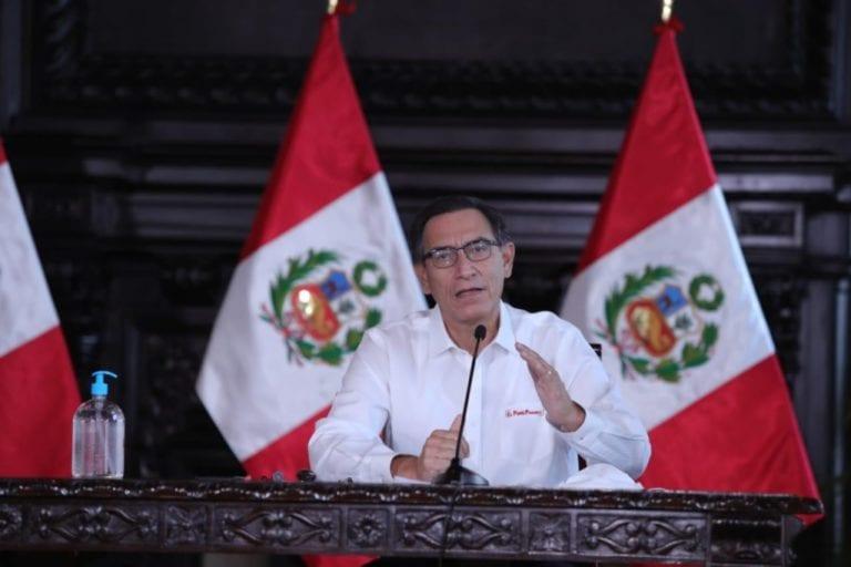 Presidente Vizcarra confirmó 16,325 casos de coronavirus en el país