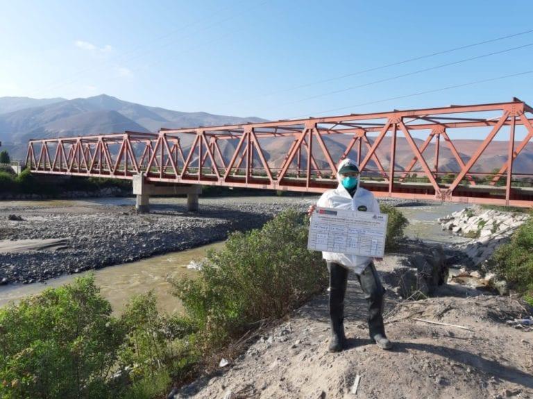 Minagri analizará muestras del río Tambo ante coloración amarilla