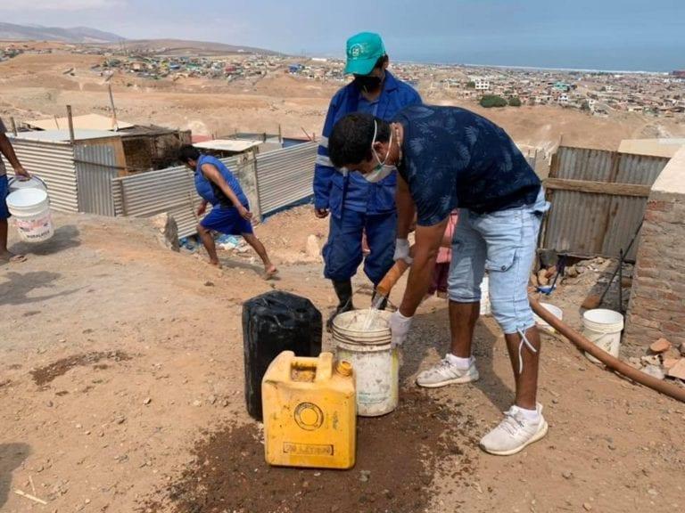 MPI y Sedapar entregan agua potable en zonas periféricas