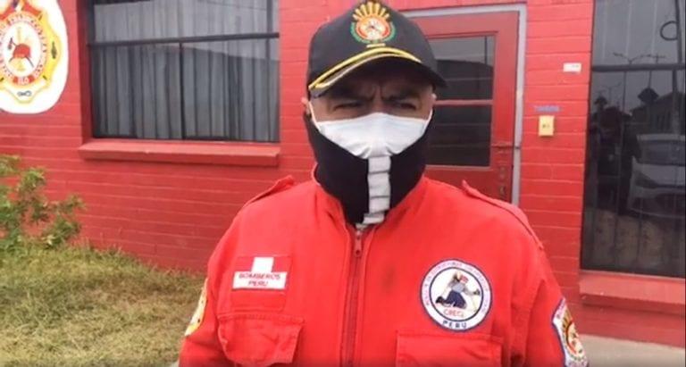 Cuentan calvario que vivió familia de bombero Efraín Tejada