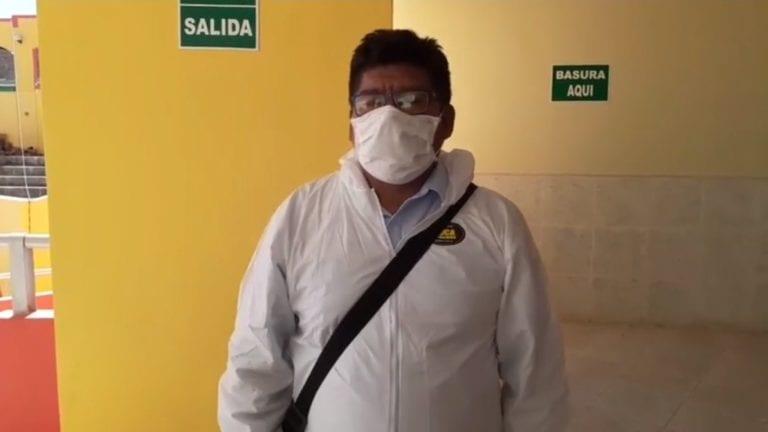 Regidor Salomón Apaza sigue con su trabajo de fiscalización, tras ser denunciado por violencia familiar
