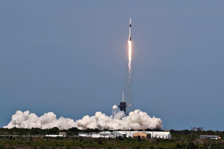 ¡Histórico! despega en EE. UU. vuelo espacial con humanos tras nueve años