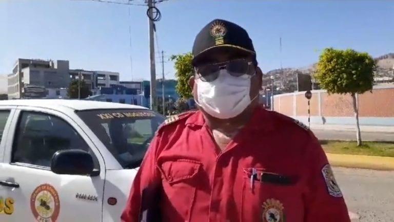 Ocho bomberos se contagiaron con COVID y piden ayuda