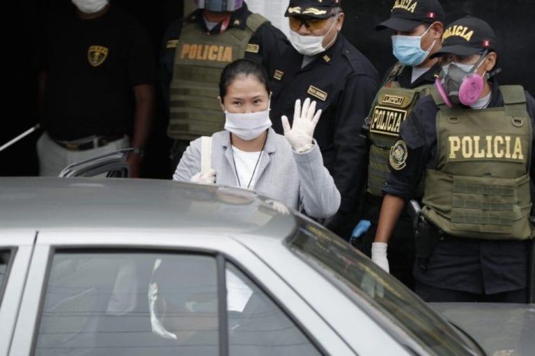 Keiko Fujimori abandonó penal Anexo Mujeres de Chorrillos