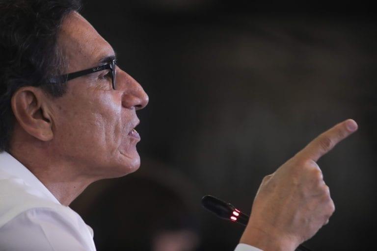 Subcomisión postergó debate sobre denuncias contra Martín Vizcarra