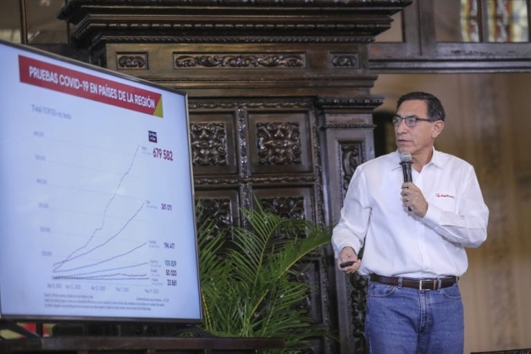 Presidente Vizcarra informa que dio negativo a prueba covid-19