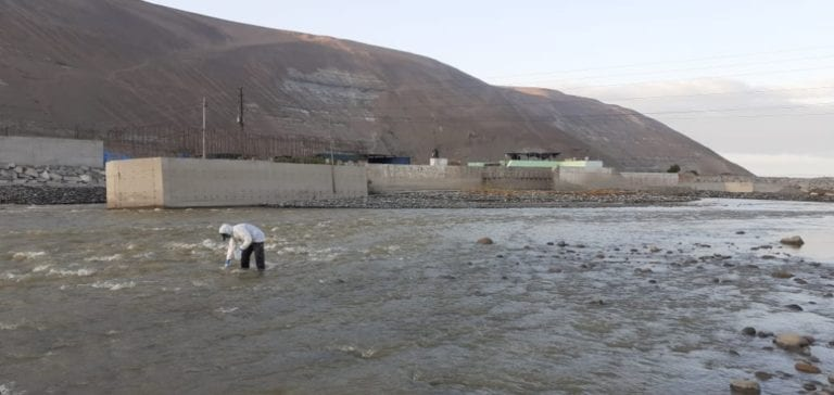 ANA asegura que aguas del río Tambo son aptas para el consumo