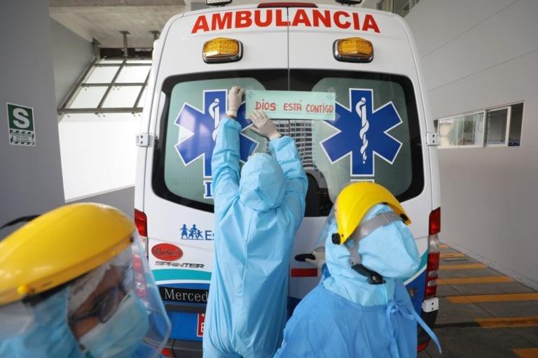 116 muertos por COVID-19 en un solo día, la cifra más alta en casi tres meses en el Perú