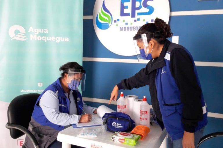 EPS Moquegua implementa plan para la vigilancia, prevención y control de covid -19