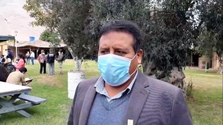 Alcalde de El Algarrobal lamenta que 4 o 5 personas busquen su revocatoria