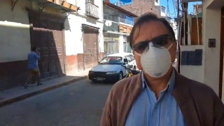 Defensoría del Pueblo exhorta a que no obliguen al elector a bajarse la mascarilla