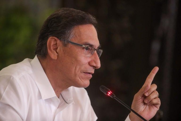 Vizcarra aceptó invitación para postular al Congreso por Somos Perú