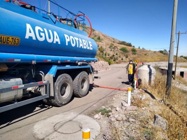 Southern Peru despliega esfuerzos para atender problema de sedimentación en río Torata