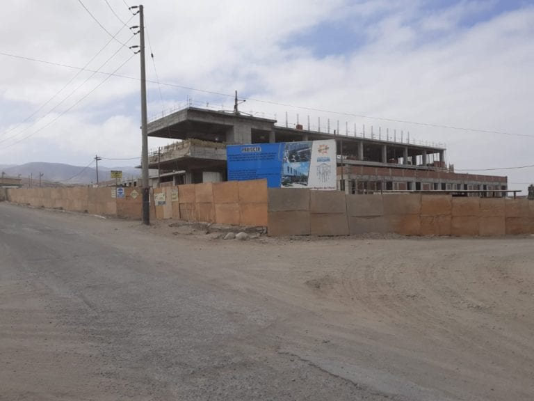 Contraloría advierte serios retrasos en obra del hospital de Alto Inclán