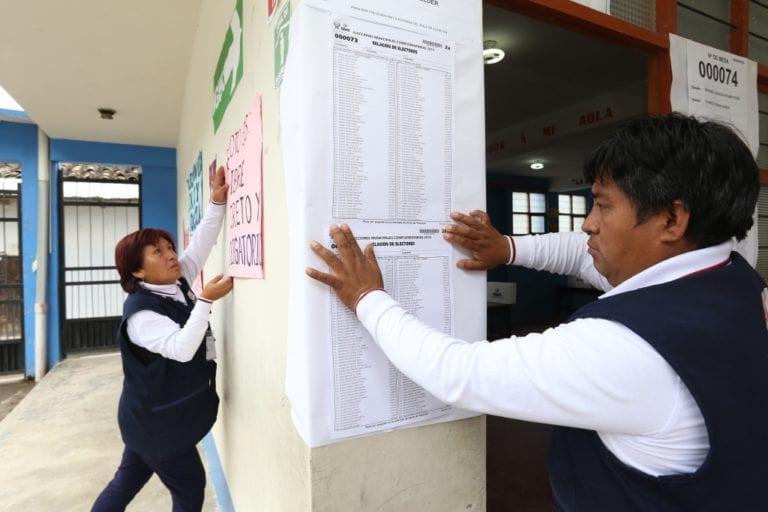 ONPE: Ciudadanía podrá elegir su local de votación en diciembre