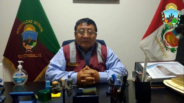 Alcalde de Quinistaquillas vuelve a ocupar el cargo desde el lunes