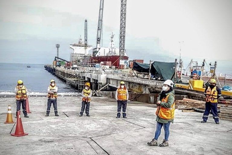 MTC reinició las obras en el Terminal Portuario de Ilo
