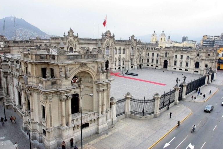 Pedro Castillo cumplirá labores en Palacio de Gobierno