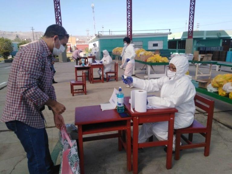 Entregan alimentos de Qali Warma a más de 22 mil escolares de Moquegua