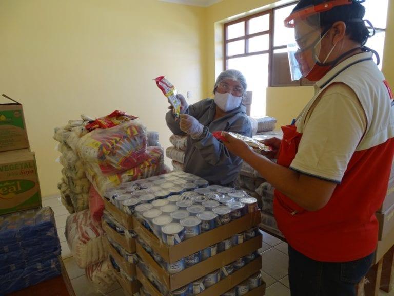 Qali Warma entrega más de 3 toneladas de alimentos para usuarios de Beneficencias Públicas
