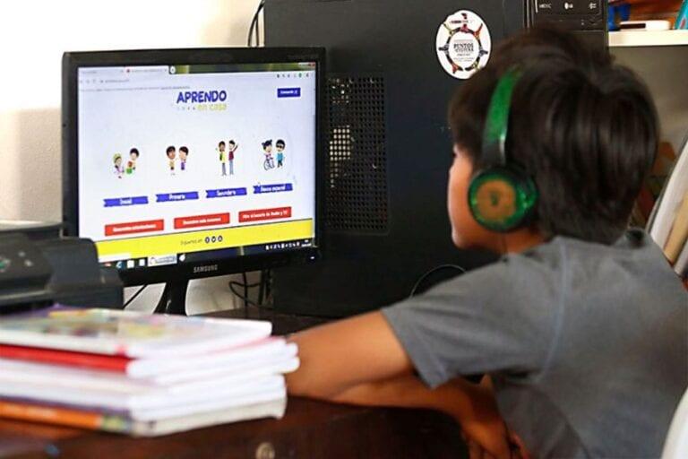 'Aprendo en casa' llega al 96 % de escolares en zonas urbanas y al 90 % del ámbito rural