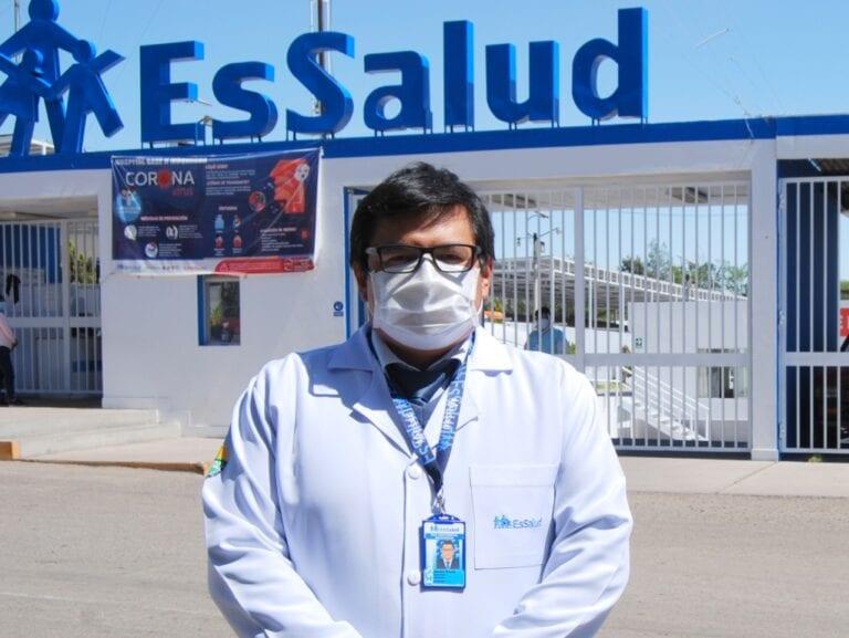 Desinstalan el hospital blanco de EsSalud de Moquegua