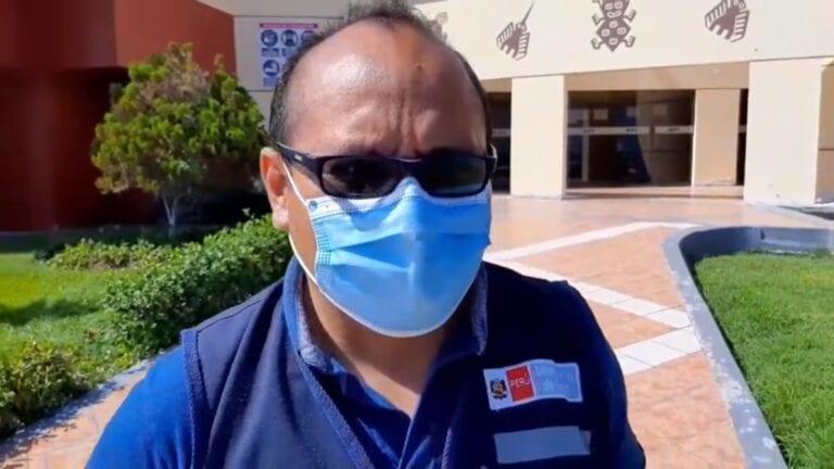 Médico Juan Herrera Chejo está inhabilitado, según jefe de la Red de Salud Ilo