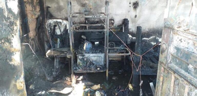 Familia lo pierde todo tras incendio que consumió vivienda en San Antonio
