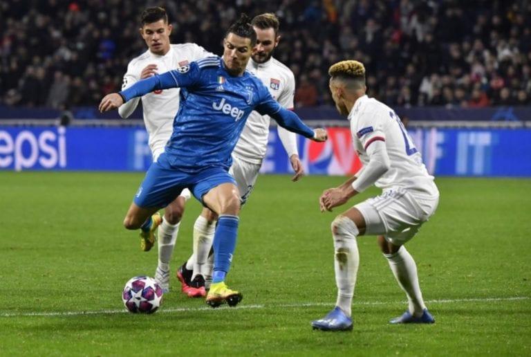 Champions League: Juventus se asoma hoy al abismo contra el Lyon