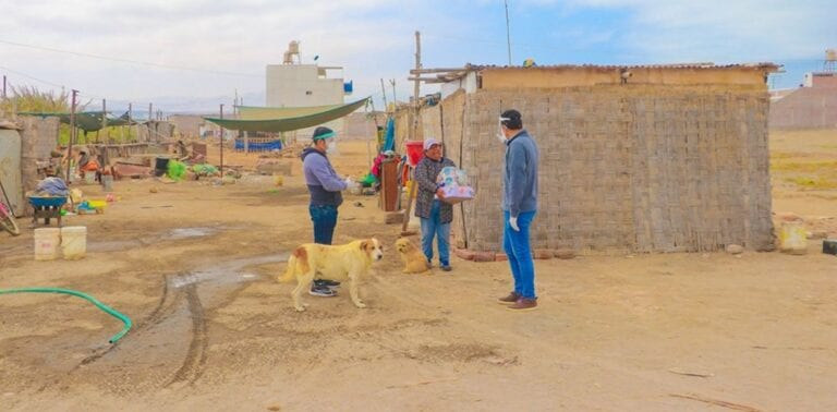 """Municipio punteño entrega nuevamente """"Kits de Acción"""" a población vulnerable"""
