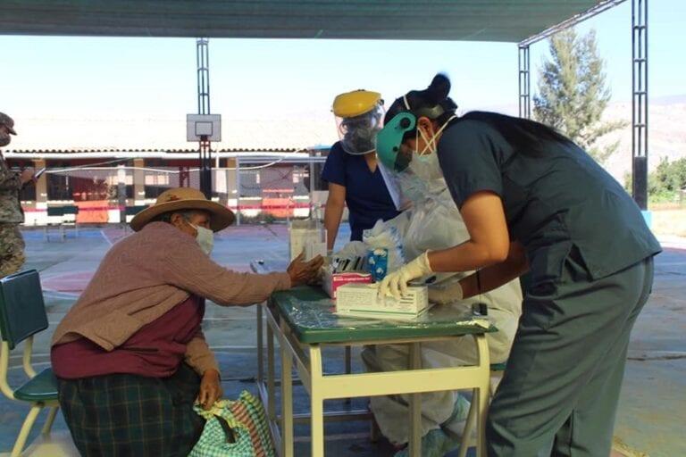 Operación TAYTA logro objetivos en Omate y la Provincia Sánchez Cerro