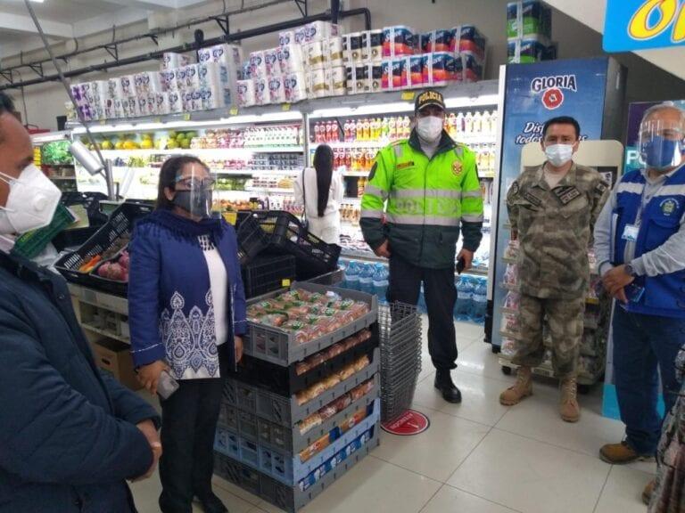 Autoridades realizan operativo conjunto a establecimientos comerciales de Mollendo