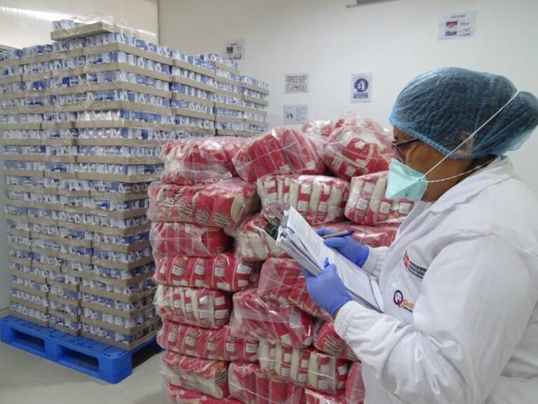 Qali Warma inicia distribución de 16.8 toneladas de alimentos